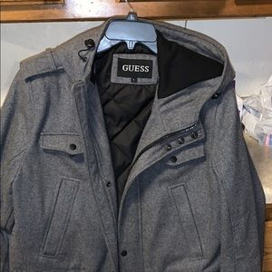 Guess Men's winter coat. Sz L